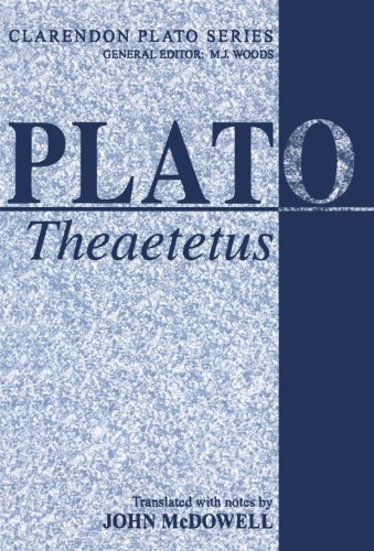 Theaetetus 9780198720836