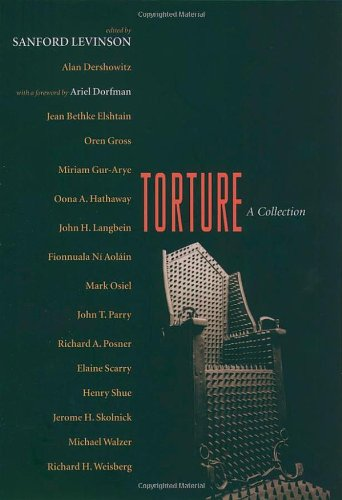 Torture: A Collection 9780195172898