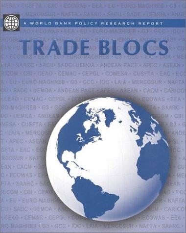 Trade Blocs 9780195211283