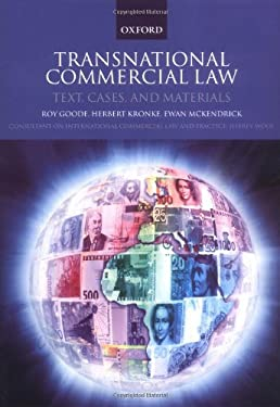 Transnational Commercial Law: Text, Cases, and Materials 9780199251667