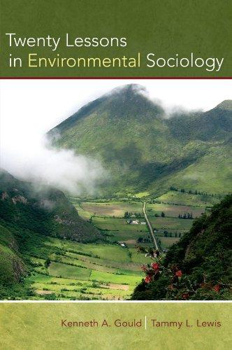 Twenty Lessons in Environmental Sociology 9780195371123