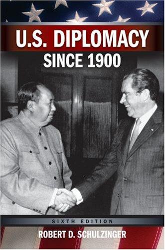 U.S. Diplomacy Since 1900 9780195320497
