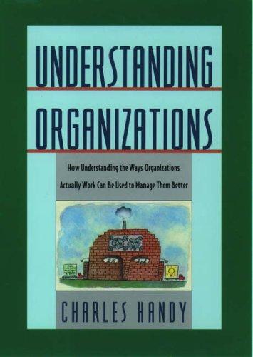 Understanding Organizations 9780195087321