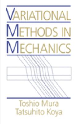 Variational Methods in Mechanics 9780195068306