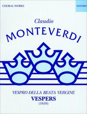 Vespers (1610): Performing Score 9780193375888