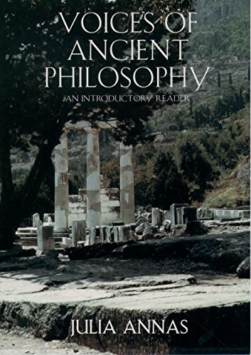 Voices of Ancient Philosophy: An Introductory Reader 9780195126952