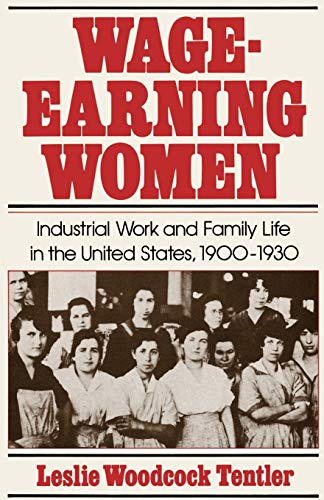 Wage-Earning Women: Industrial Work and Family Life in the United States, 1900-1930 9780195032116