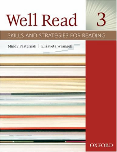 Well Read 3 Student Book: Skills and Strategies for Reading 9780194761048