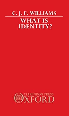What Is Identity? 9780198248088