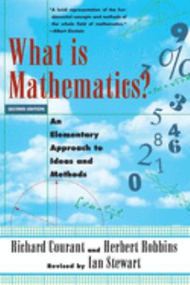 What Is Mathematics?: An Elementary Approach to Ideas and Methods 9780195105193