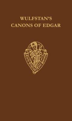 Wulfstan's Canons of Edgar