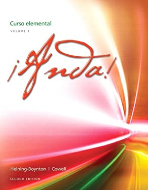 !Anda! Curso Elemental, Volume 1 9780205239771
