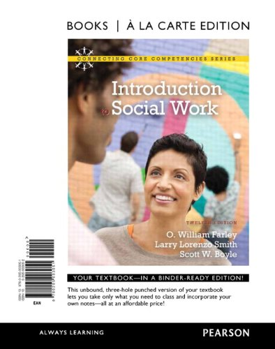 Introduction to Social Work 9780205003051