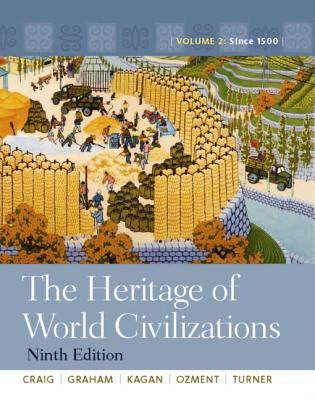 The Heritage of World Civilizations: Volume 2, Books a la Carte Edition 9780205003068