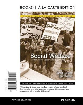 Social Welfare: A History of the American Response to Need 9780205003297