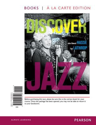 Discover Jazz 9780205003518