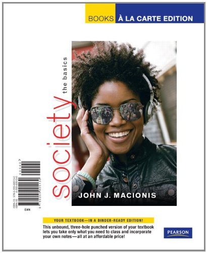 Society: The Basics 9780205005130