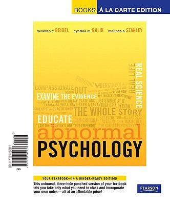 Abnormal Psychology 9780205010233