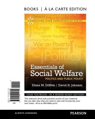 Essentials of Social Welfare: Politics and Public Policy 9780205011704