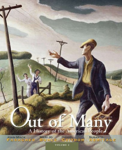 Out of Many, Volume 2: A History of the American People 9780205011902