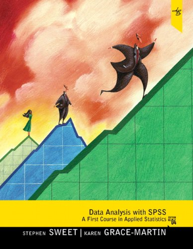 Data Analysis with SPSS: A First Course in Applied Statistics [With CDROM] 9780205019670