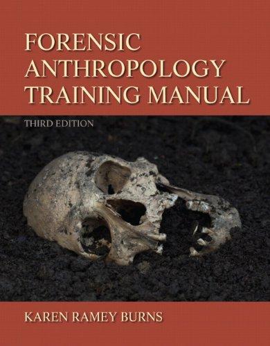 Forensic Anthropology Training Manual 9780205022595