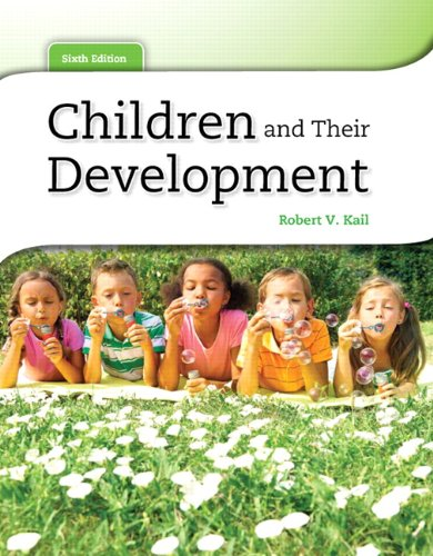 Children and Their Development 9780205034949