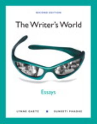 The Writer's World: Essays (with Mywritinglab with Pearson Etext Student Access Code Card) 9780205041046
