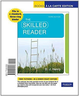 The Skilled Reader, Books a la Carte Edition 9780205074303