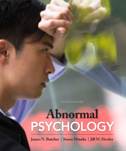 Abnormal Psychology 9780205167265