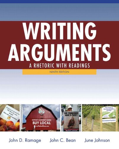 Writing Arguments: A Rhetoric with Readings 9780205171637