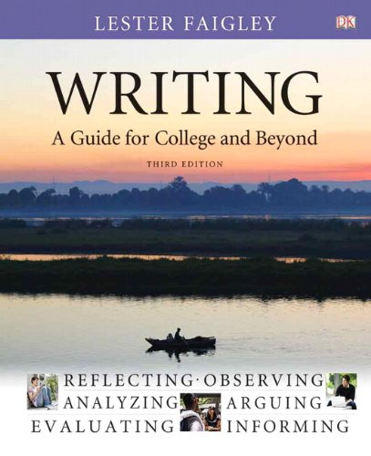 Writing: A Guide for College and Beyond 9780205223312