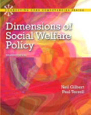 Dimensions of Social Welfare Policy Plus Mysearchlab with Etext 9780205223510