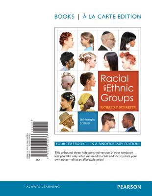 Racial and Ethnic Relations, Books a la Carte Edition 9780205259236