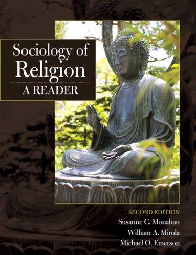 Sociology of Religion: A Reader 9780205710829