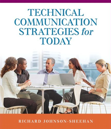 Technical Communication Strategies for Today 9780205739417