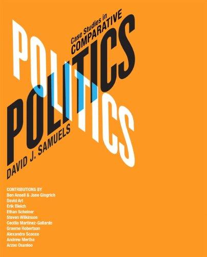 Case Studies in Comparative Politics