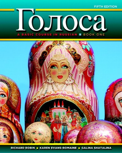 Golosa: A Basic Course in Russian, Book One 9780205741359
