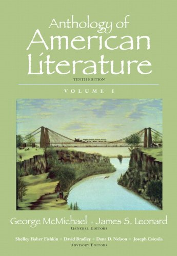 Anthology of American Literature, Volume I 9780205779390