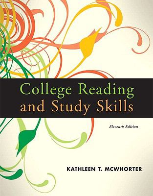 College Reading and Study Skills [With Access Code] 9780205784288