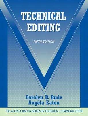 Technical Editing 9780205786718