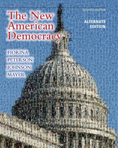 The New American Democracy, Alternate Edition 9780205791347