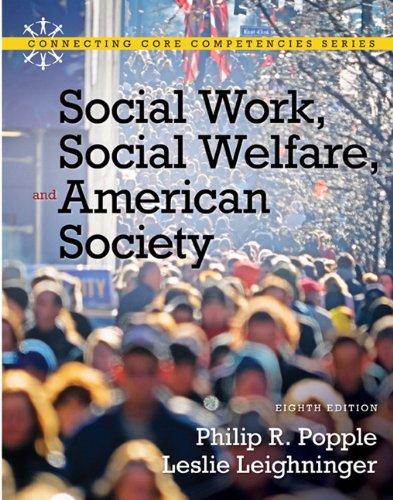 Social Work, Social Welfare and American Society 9780205793839