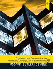 Organizational Communication: Foundations, Challenges, and Misunderstandings 12719317