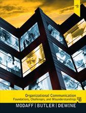 Organizational Communication: Foundations, Challenges, and Misunderstandings 12719317
