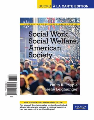 Social Work, Social Welfare and American Society 9780205842575