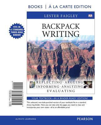 Backpack Writing 9780205850761