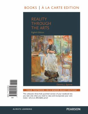 Reality Through the Arts 9780205858231