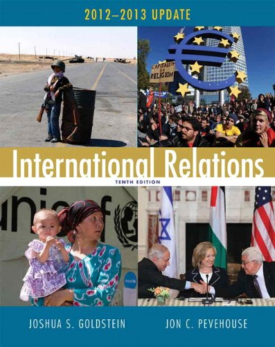 International Relations, 2012-2013 Update 9780205875269