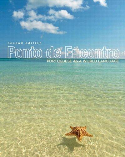 Ponto de Encontro: Portuguese as a World Language Plus Myportugueselab with Pearson Etext 24mo 9780205876624